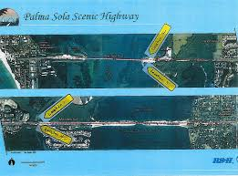 Map Of Anna Maria Island Florida by Florida U0027s S R 64 West Palma Sola Scenic Highway Shoreline