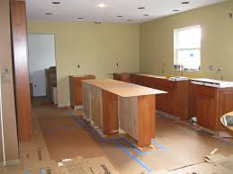 west chester kitchen office flooring and base cabinets