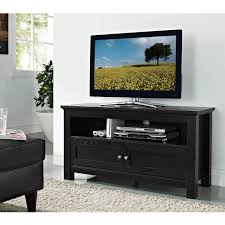 Black Corner Tv Cabinet With Doors Tall Corner Tv Stand For Bedroom Wallpaper Photos Hd Decpot