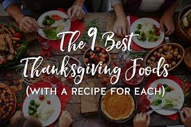 diabetic thanksgiving dinner menu the 9 best thanksgiving foods with a recipe for each