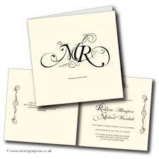 monogram wedding invitations monogram wedding invitations
