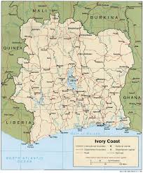 africa map ivory coast iem base in abidjan cote d ivoire west africa
