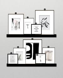 Minimal Decor by How To Create A Minimalist Gallery Wall U2022 Little Gold Pixel