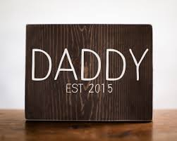 fathers day gift for him daddy established sign papa grandpa