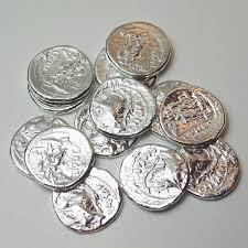 arras de boda arras de plata monedas romanas