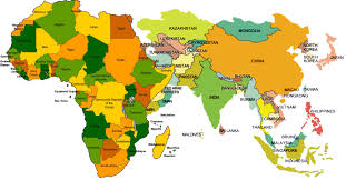 Map Of Africa And Europe by Map Of Africa And Asia My Blog