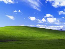 the most viewed photo of all time windows xp and photography