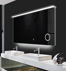Bathroom Led Mirror Illuminated Led Mirrors With Demister Pad For Bathroom
