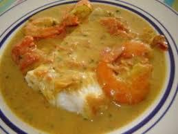 cuisiner dos de cabillaud dos de cabillaud au curry crevettes et lait de coco recette ptitchef