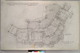 file first floor plan residence for charles millard pratt ggusc