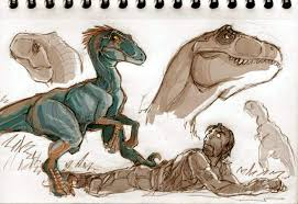 dinosaurs sketches part 03 by vanoxymore on deviantart