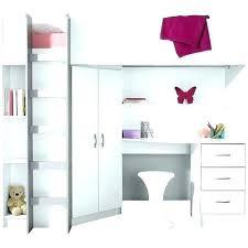 armoire bureau intégré lit mezzanine bureau armoire lit mezzanine avec bureau integre 2