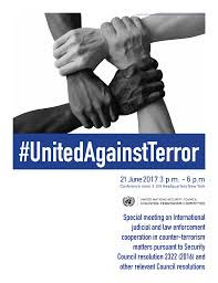Committee by Unitedagainstterror Special Meeting Of The Counter Terrorism