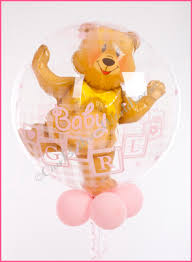 teddy bears inside balloons balloon table arrangements ourballoonworld