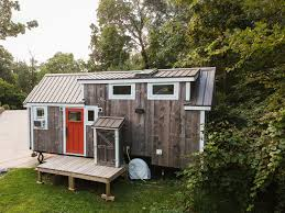rustic modern tiny house for sale featured on tiny house nation