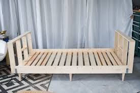 how to make a daybed frame diy upholstered daybed frame at charlotte s house