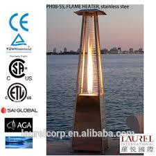 Flame Patio Heater Flame Patio Heater Glass Tube Flame Patio Heater Round Flame Patio