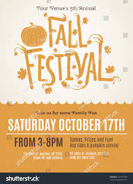 vintage halloween flyer background fun fall festival invitation flyer stock vector 321961808