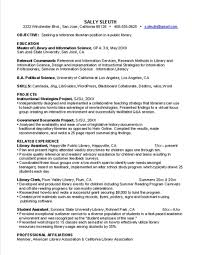 how to write a resume objective cover letter librarian resume sample resume sample for librarian cover letter academic librarian cv examples resume sample academic template xlibrarian resume sample extra medium size