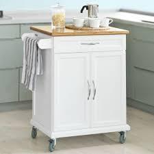 Extra Kitchen Storage by Sobuy Kitchen Cabinet Kitchen Storage Trolley Cart With Bamboo Top