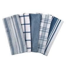 dii kitchen dish towels blue 18x28 ultra