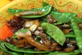 cuisiner des pois gourmands sauté de pois gourmands recettes végétariennes gourmandes