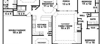 Single Story Farmhouse Plans Perfect One Story Farmhouse Plans Rhodes Country Home For Design