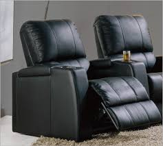 Theater Sofa Recliner Magnolia Home Theater Seating In Black Top Grain Leather And