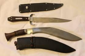 fancy knives bowie knife vs kukri knife what u0027s your fighting knife