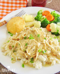 crock pot chicken and gravy the country cook