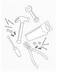 Tool Coloring Page Az Coloring Pages Coloring Pages Hand Tools In Tools Coloring Page
