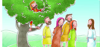 sunday lesson jesus and zacchaeus