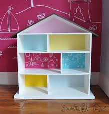 How To Make Doll House Furniture How To Make A Diy Dollhouse For A Toddler Simply The Nest