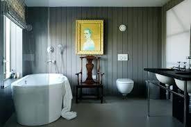 panelled bathroom ideas slate bath grey colour scheme with slate in modern bathroom ideas