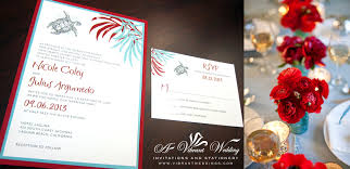 Red Wedding Invitation Cards Red And Turquoise Wedding Invitation U2013 A Vibrant Wedding