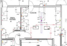 plan d une cuisine de restaurant plan implantation cuisine décoration de maison contemporaine