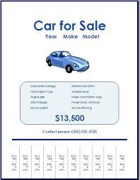 car sale brochure tips u2013 openoffice writer templates