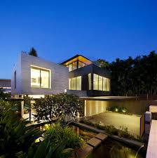 Home Lighting Design In Singapore by The Travertine Dream House From Singapore