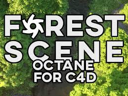scene tutorial c4d x octane render v3