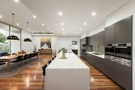 deco cuisine salle a manger déco noir et blanc pour la salle à manger la cuisine et le salon