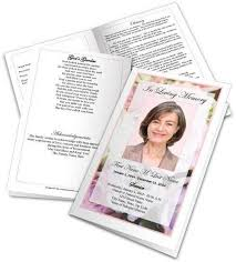 funeral templates 31 funeral program templates free word pdf psd