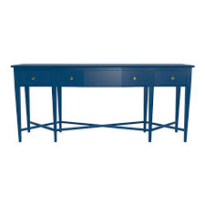 Blue Console Table Modern Console Tables Customizable And Sleek Oomph