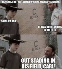 Carl Walking Dead Meme - the 19 greatest dad jokes from rick grimes dad jokes rick grimes