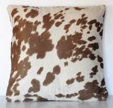 Cowhide Pillows Country Just The Right Pillow