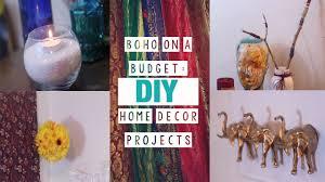 Bohemian Style Decor by 5 Boho Chic Easy Room Decor Diys Youtube