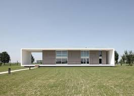 House Front View Striking Contemporary House Design With Futuristic Architecture
