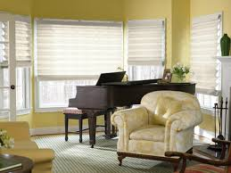 Dining Room Window Treatments Ideas Window Treatments For Living Room And Dining Room Bow Window
