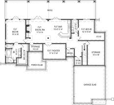 Home Floor Plans With Basement House Plan Picturesque Design Ideas House Plan With Basement