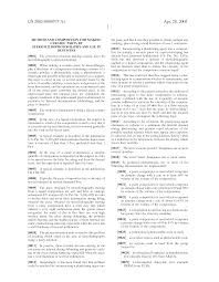 patent us20050090575 method and composition for making ceramic