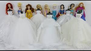 disney princess wedding dresses disney princess snow white ariel elsa cinderella
